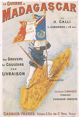 imperialism in madagascar The french in west africa  thus, french imperialism was an effort to regain lost power rather than a continuation of previous successes, and its african empire.