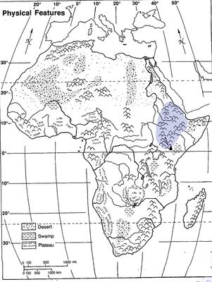 Africa Physical Map Quiz | Quiz