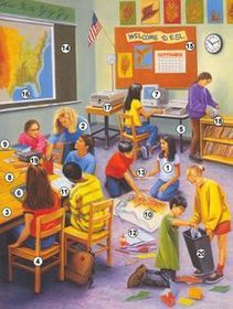 sensory pictures for classroom and therapy use - 603×800