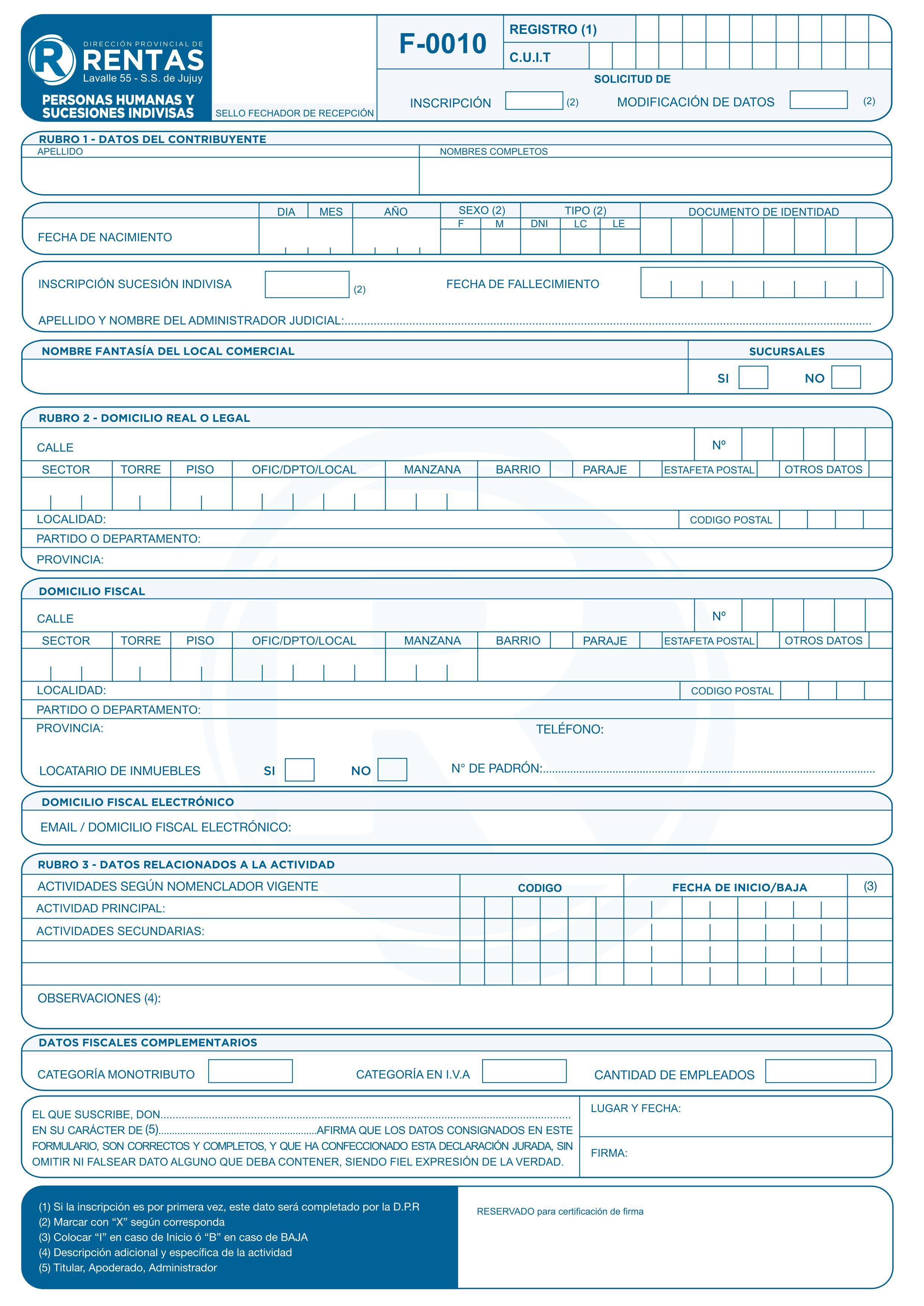 Impuesto a los ingresos brutos repaso note for Inscripcion ingresos brutos