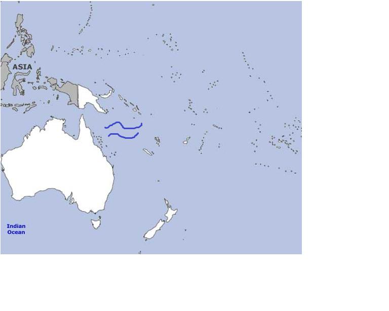 Oceania map quiz   Flashcards