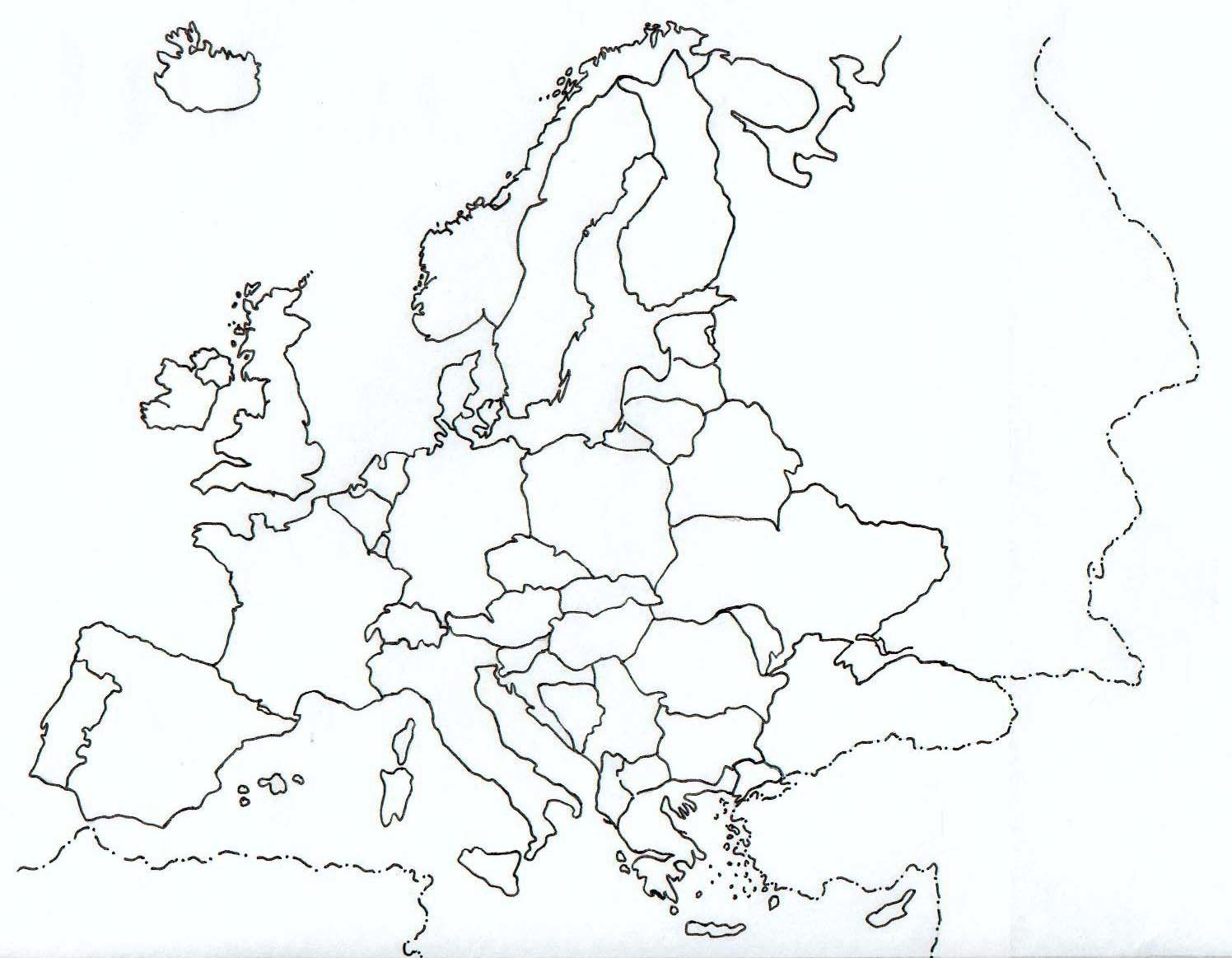 Mapa Politico Union Europea Mudo.La Union Europea Quiz