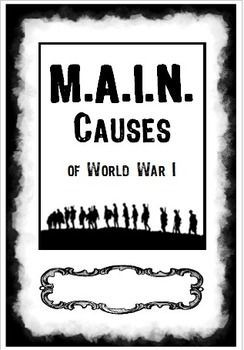 GoConqr - Causes of WW1 Quiz