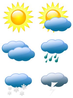 Weather-symbols-icons-clip-art