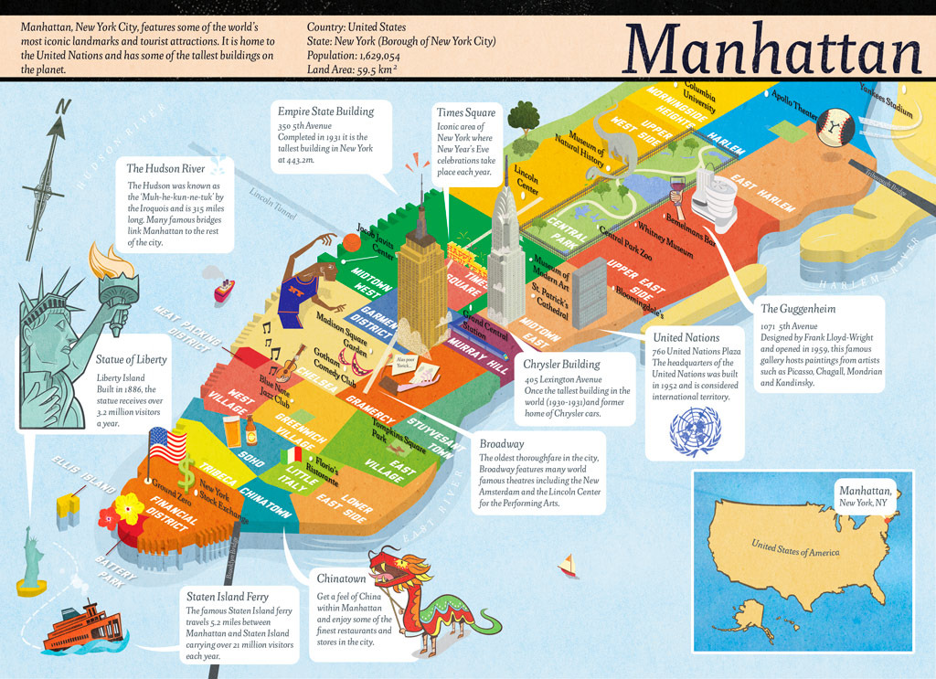 Maps Update 19711007 Mapa De New York City Maps Update – Mapa Manhattan New York