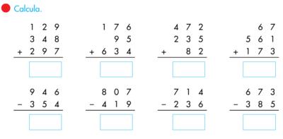 Resultado de imagen para operaciones basicas matematicas